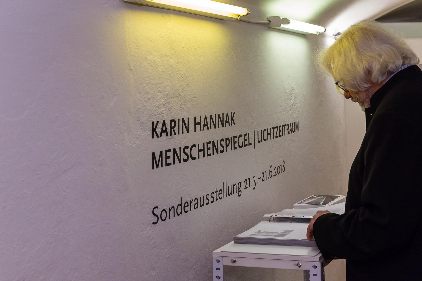 Eröffnung Karin Hannak